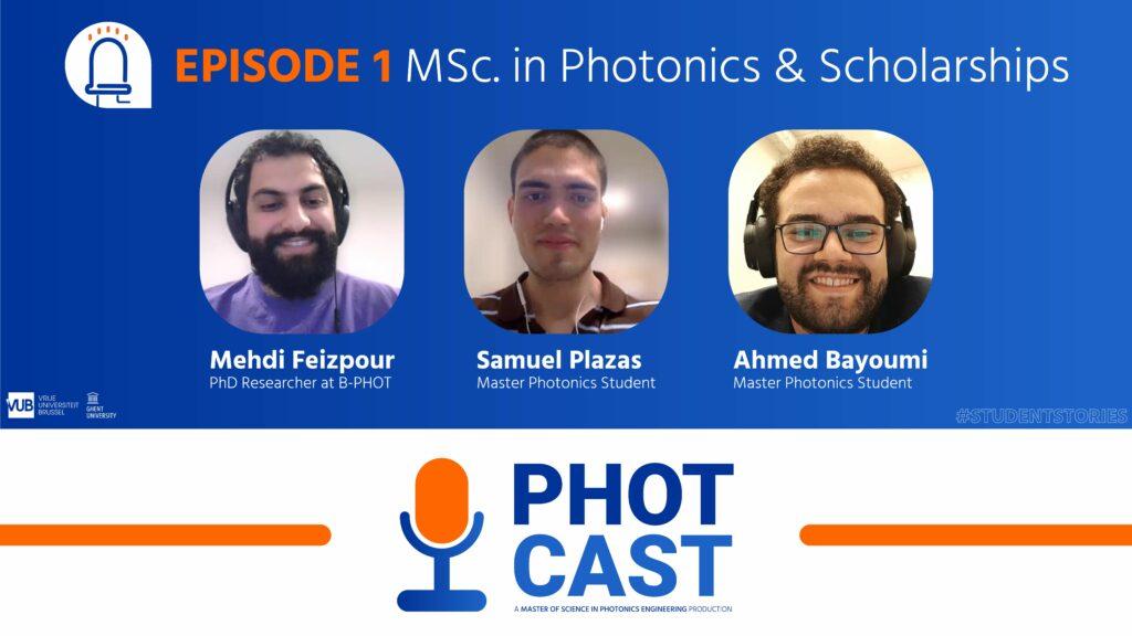 Photcast Photonics Podcast EP1
